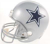 "Nate Newton Signed Dallas Cowboys Full-Size Helmet Inscribed ""SB XXVII, XXVIII, XXX Champs"" (JSA COA & Radtke COA) at PristineAuction.com"