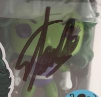 Stan Lee Signed Marvel She-Hulk #147 Funko Pop! Vinyl Figure (Lee Hologram) at PristineAuction.com