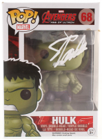 "Stan Lee Signed ""Avengers: Age of Ultron"" Hulk #68 Funko Pop! Vinyl Figure (Radtke COA & Lee Hologram)"