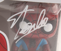 Stan Lee Signed Marvel Spider-Man #03 Funko Pop! Vinyl Figure (Radtke COA & Lee Hologram) at PristineAuction.com