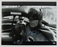 "Adam West & Burt Ward Signed ""Batman"" 16x20 Photo Inscribed ""Robin"" (Beckett Hologram)"
