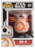 "Brian Herring Signed ""Star Wars"" BB-8 #61 Funko POP! Vinyl Figure Inscribed ""BB-8"" with Hand-Drawn BB-8 Sketch (PA COA)"