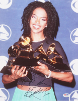 """Lauryn Hill Signed """"Grammy Awards"""" 11x14 Photo Inscribed """"2016"""" (PSA COA) at PristineAuction.com"""