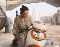 "Brian Herring Signed ""Star Wars"" 11x14 Photo Inscribed ""BB-8"" with Hand-Drawn BB-8 Sketch (PA COA) at PristineAuction.com"