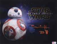 """Brian Herring Signed """"Star Wars"""" 11x14 Photo Inscribed """"BB-8"""" with Hand-Drawn BB-8 Sketch (PA COA) at PristineAuction.com"""