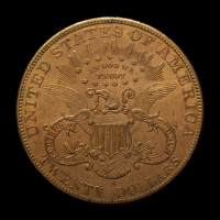 1906-S $20 Liberty Head Gold Double Eagle Gold Coin at PristineAuction.com