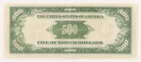 1934-A $500 Five Hundred Dollars Federal Reserve Note at PristineAuction.com