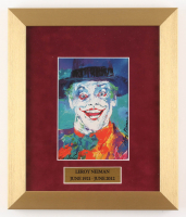 "LeRoy Neiman ""The Joker"" 11x13 Custom Framed Print Display"