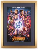 """Avengers: Infinity War"" 19x24.5 Custom Framed Movie Poster Display"