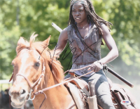 "Danai Gurira Signed ""The Walking Dead"" 11x14 Photo (PSA COA) at PristineAuction.com"