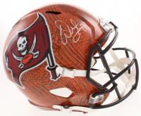 Warren Sapp Signed Tampa Bay Buccaneers Full-Size Hydro Dipped Speed Helmet (JSA COA)