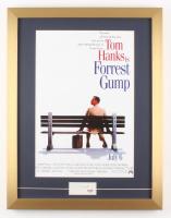 "Tom Hanks Signed ""Forrest Gump"" 17x22 Custom Framed Cut Display (PSA COA)"