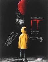 "Bill Skarsgard & Andy Muschietti Signed ""It"" 11x14 Photo (PSA COA)"