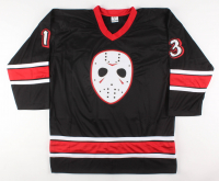 "Ari Lehman Signed Jersey Inscribed ""JASON 1"" (Lehman Hologram) at PristineAuction.com"