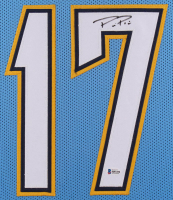 Philip Rivers Signed 35x43 Custom Framed Jersey (Beckett COA) at PristineAuction.com