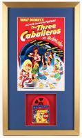 "Walt Disney's ""The Three Caballeros"" 17x29 Custom Framed Film Reel Display"