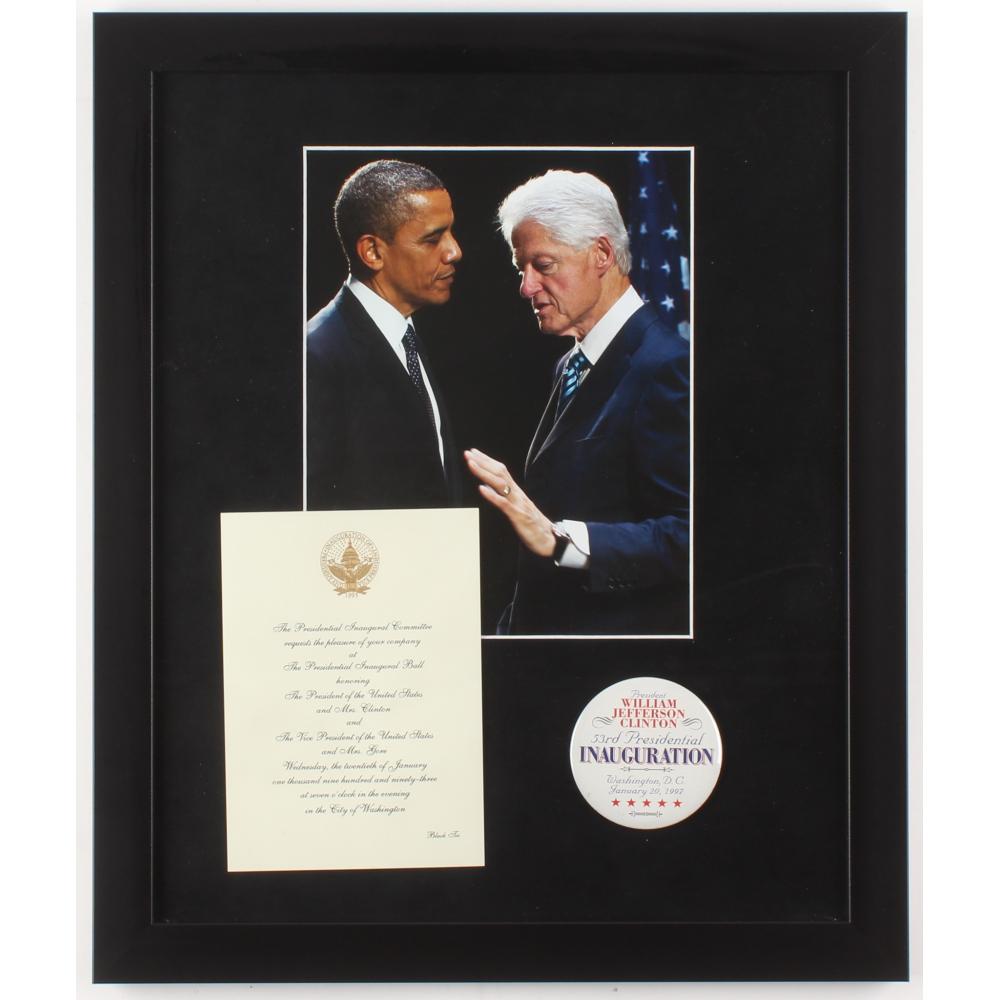 Official Inauguration Invitation Barack Obama President