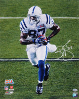 Reggie Wayne Signed Indianapolis Colts 16x20 Photo (Beckett COA)