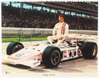 Bobby Unser Signed Indy 500 Series 11x14 Photo (Beckett COA) at PristineAuction.com