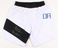 "Brian Ortega Signed UFC Trunks Inscribed ""T-City"" (PSA COA)"