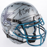Amari Cooper Signed Dallas Cowboys Full-Size Hydro Dipped Authentic On-Field Helmet (Beckett COA)