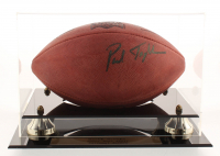 """Garth Brooks & Paul Tagliabue Signed Super Bowl XXVII Official NFL Game Ball Inscribed """"God Bless"""" with High-Quality Display Case & 8x10 Photo (Beckett COA)"""