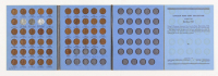 1941-1958 Lincoln Head Cent Collection with (51) Coins with Folder