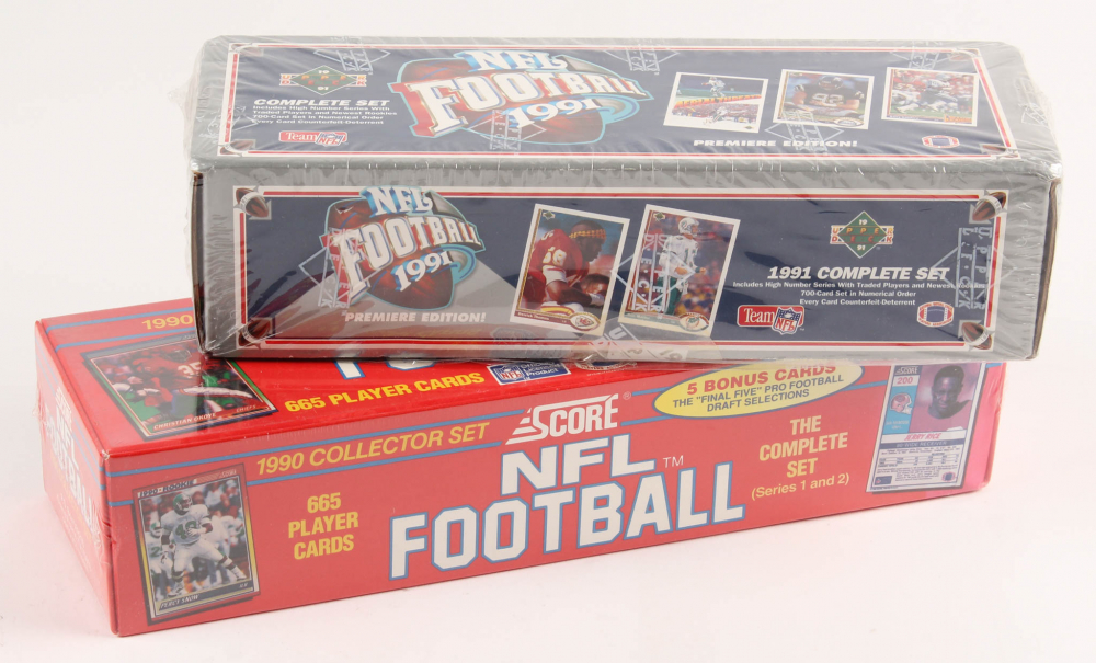 Upper Deck 1991 Football Factory Sealed Set 700 Cards