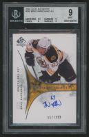 2009-10 SP Authentic #260 Brad Marchand Autograph RC (BGS 9)