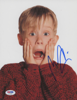 "Macaulay Culkin Signed ""Home Alone"" 8x10 Photo (PSA COA) at PristineAuction.com"