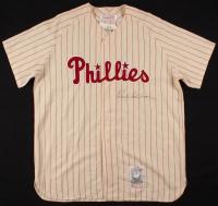 Richie Ashburn Signed Philadelphia Phillies Jersey (JSA LOA) at PristineAuction.com