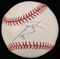 Steve Perry Signed OML Baseball (JSA COA)