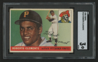 1955 Topps #164 Roberto Clemente RC (SGC 3) at PristineAuction.com