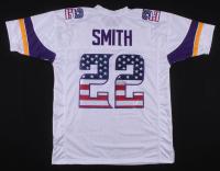 """Harrison Smith Signed Minnesota Vikings """"American Flag"""" Jersey (TSE COA)"""