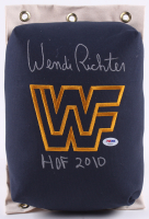 "Wendi Richter Signed WWF 80's Style Turnbuckle Inscribed ""HOF 2010"" (PSA COA) at PristineAuction.com"