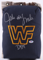 "Jake ""The Snake"" Roberts Signed WWF 80's Style Turnbuckle Inscribed ""DDT"" (PSA COA) at PristineAuction.com"