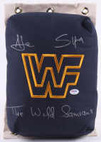 The Wild Samoans Signed WWF 80's Style Turnbuckle (PSA COA) at PristineAuction.com