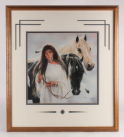 """Lot of (3) Maija Custom Framed Print Displays With (1) Signed & Inscribed """"Best Wishes"""" (PA LOA) at PristineAuction.com"""