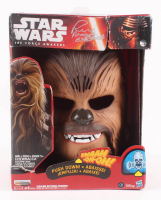 "Peter Mayhew Signed ""Star Wars The Force Awakens"" Chewbacca Mask Inscribed ""Chewbacca"" (Steiner COA) at PristineAuction.com"