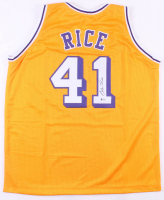 Glen Rice Signed Los Angeles Lakers Jersey (Beckett COA) at PristineAuction.com