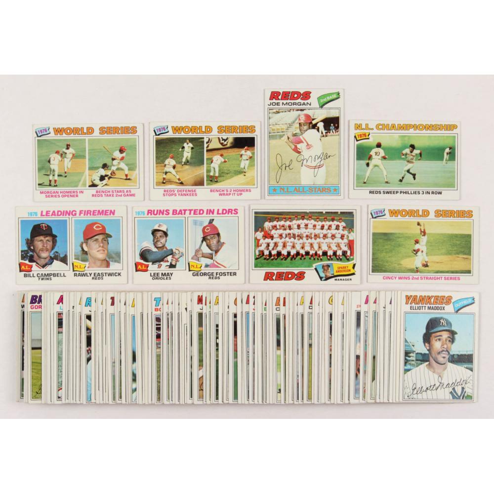 1977 Topps #100 Joe Morgan Cincinnati Reds Baseball Card