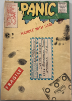 "1955 ""Panic"" Issue #10 EC Comic Book at PristineAuction.com"