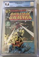 "1979 ""Battlestar Galactica"" Issue #1 Marvel Comic Book (CGC 9.6)"