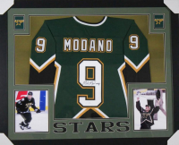 Mike Modano Signed 35x43 Custom Framed Jersey (JSA COA) at PristineAuction.com