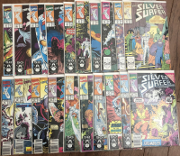 "Run of (82) 1987 ""Silver Surfer"" 2nd Series Marvel Comic Books with #1-82 at PristineAuction.com"