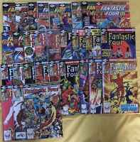 "Run of (30) 1979-1981 ""Fantastic Four"" 1st Series Marvel Comic Books with #207-236 at PristineAuction.com"