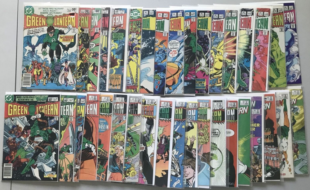 "Lot of (36) 1960-1988 ""Green Lantern"" 1st Series DC Comic Books at PristineAuction.com"