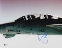 """Steve Stevens Signed """"Top Gun"""" 11x14 Photo (Beckett COA)"""