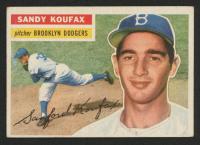 1956 Topps #79 Sandy Koufax
