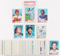 1982 Topps Traded Complete Set of (132) Baseball Cards with #12T Bobby Brown, #32T Ed Farmer, #69T Bake McBride, #98T Cal Ripken (PSA 8), #114T Steve Stroughter, #117T Frank Tanana